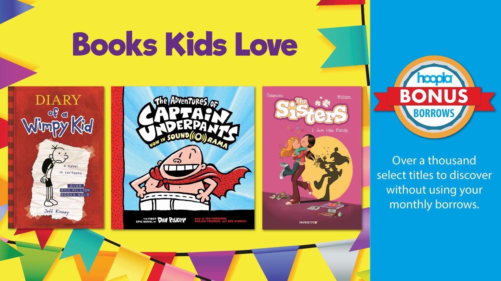 Hoopla Bonus Borrows Collection for Kids